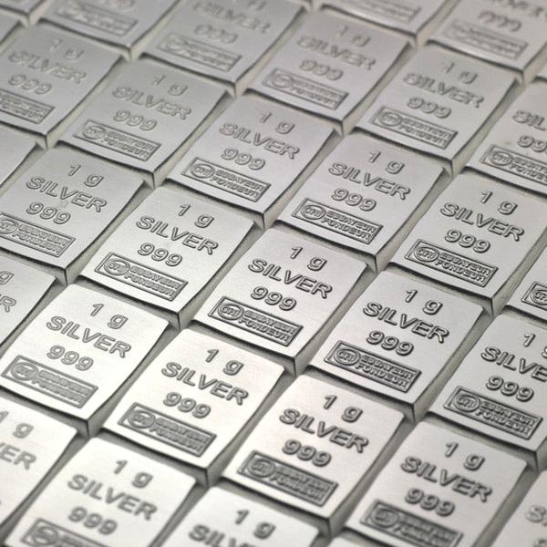 Silbertafeln und Münztafeln