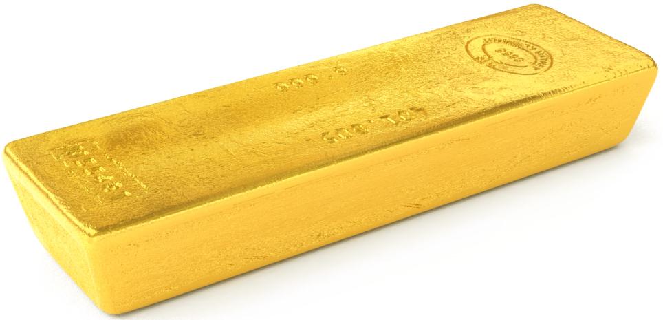 Goldbarren 400oz
