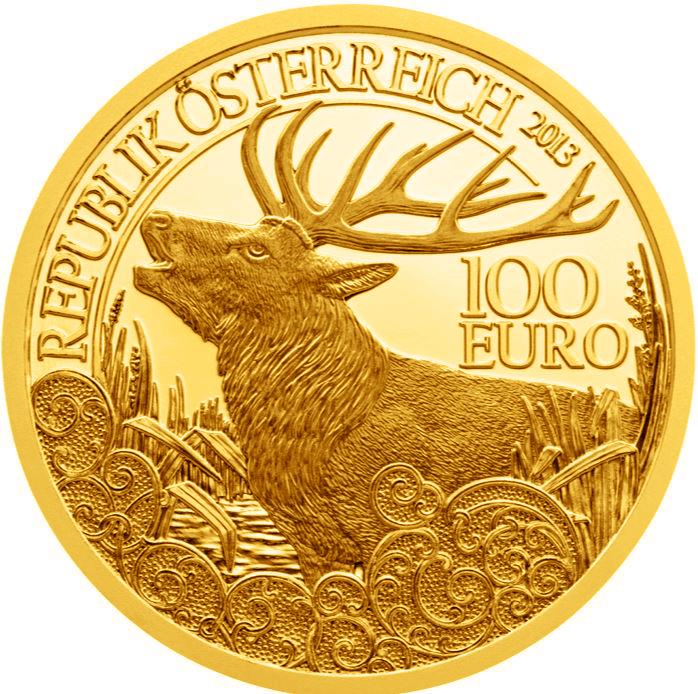 Österreich Goldeuro