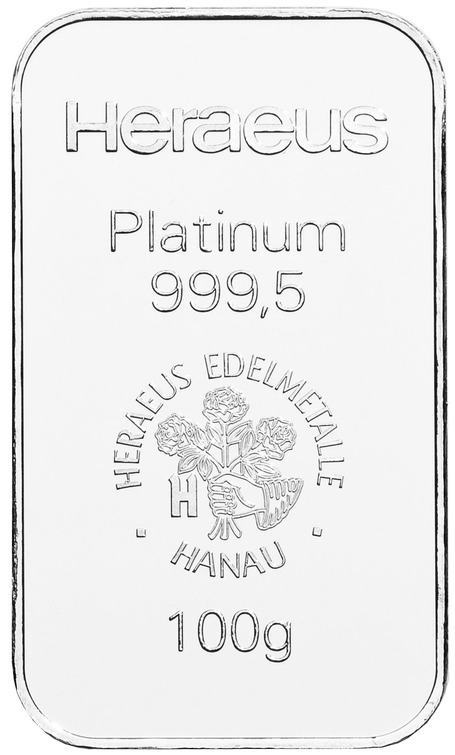 Platinbarren 250g