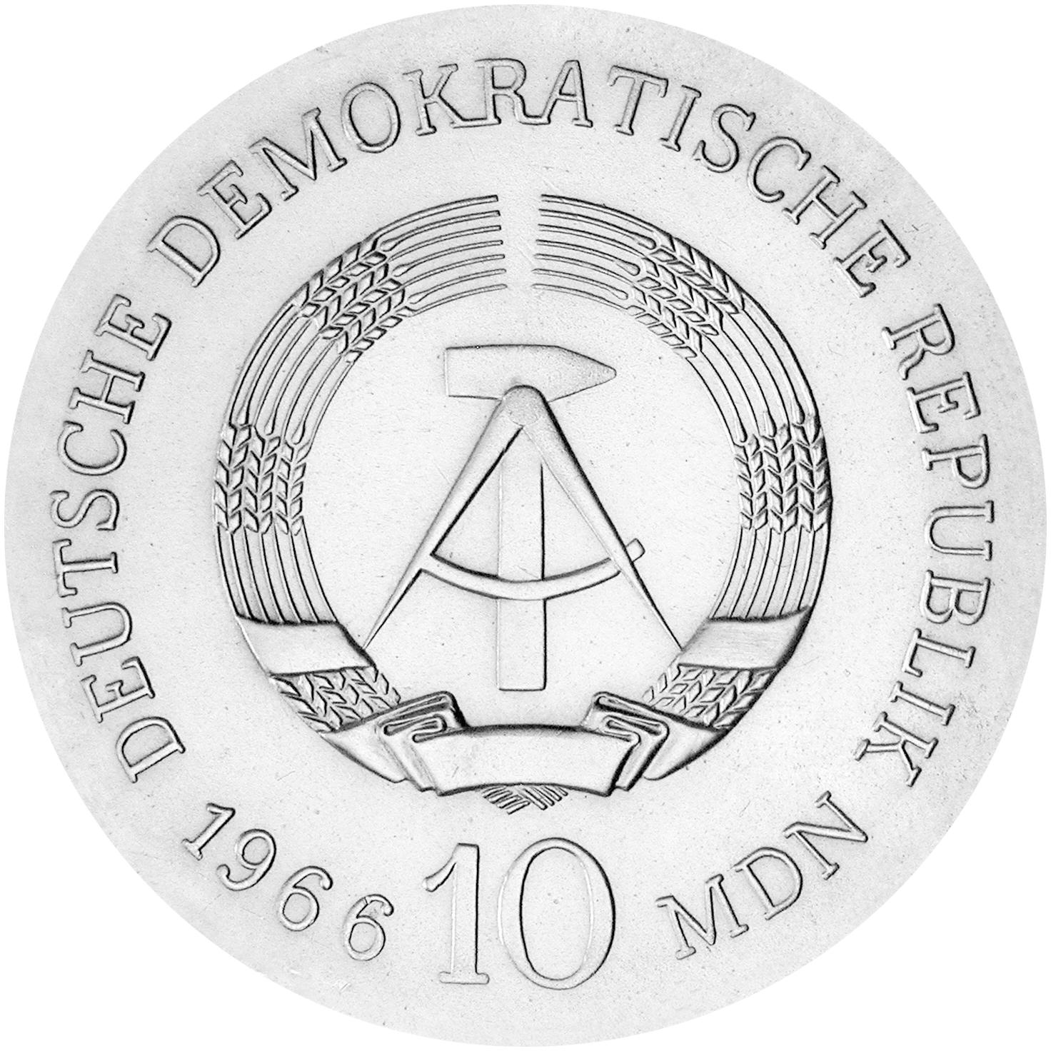 DDR Gedenkmünzen