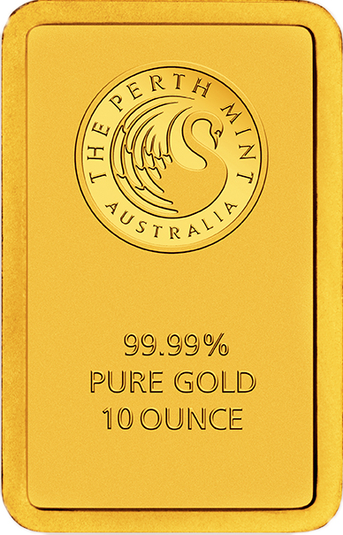 Goldbarren 10 oz