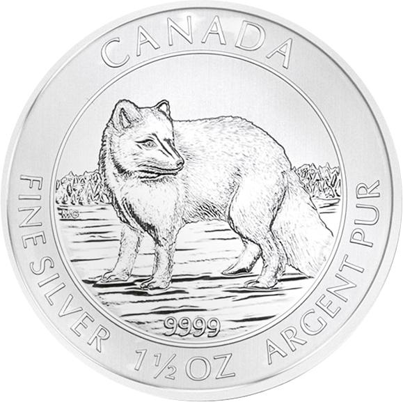 Polarfuchs Kanada