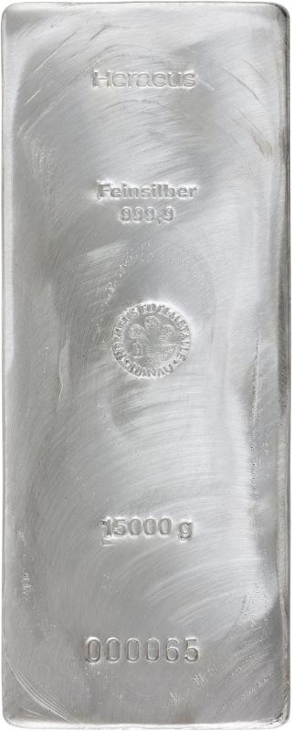 Silberbarren 15kg