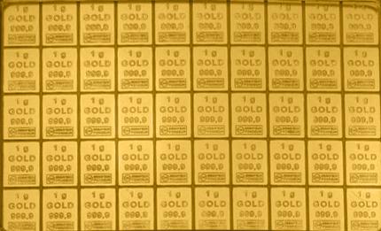 Goldbarren Tafelbarren 5 x 1g